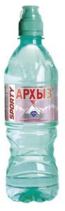 Вода Архыз негаз 0,5 литра спорт (1 уп./12 бут.)